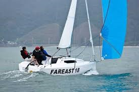 Segelyacht Far East Race